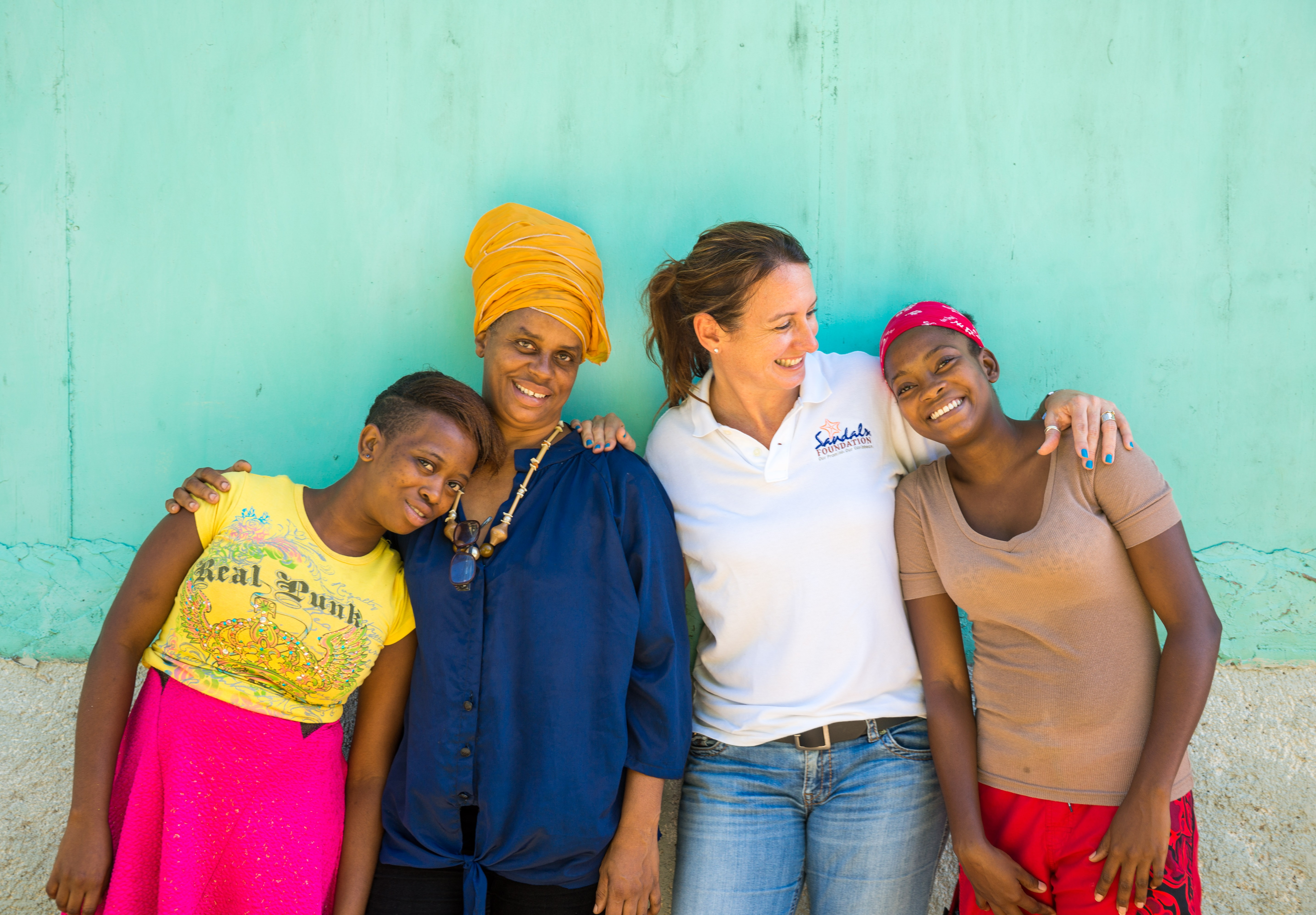 Celebrating International Women's Day with Sandals Foundation
